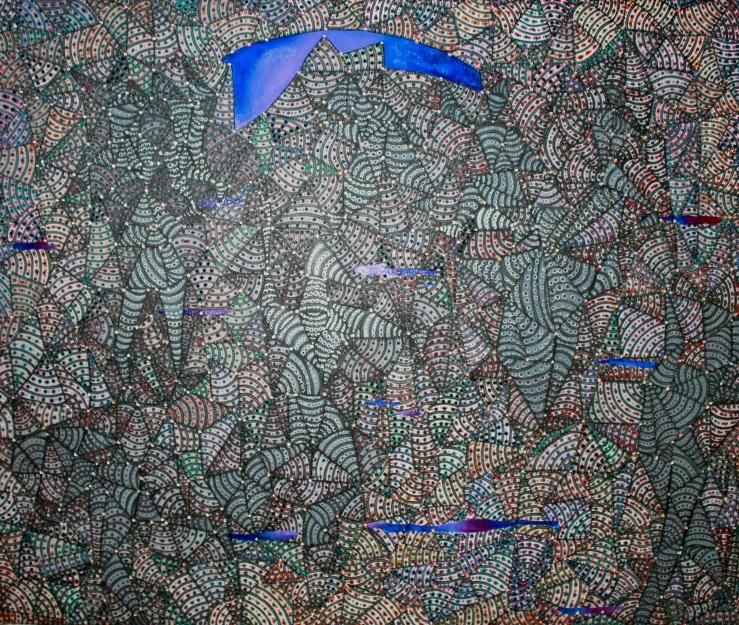 Rain Dance Constellation  100cm x 170cm